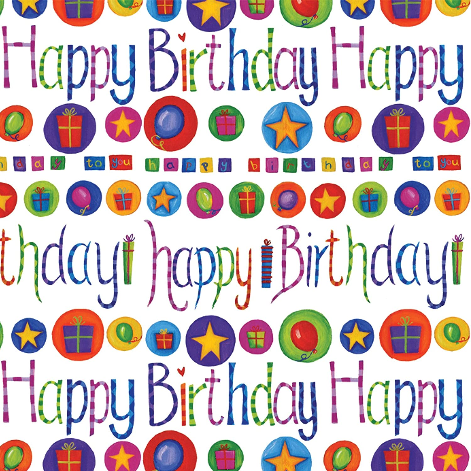 Printable Birthday Wrapping Paper Free ~ Birthday gift wrapping paper printable images