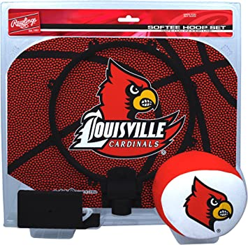 NCAA Louisville Cardinals Kids Slam Dunk Hoop Set,
