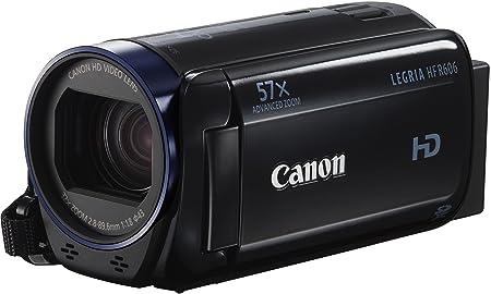 "Canon HF R606 Caméscope de poche 3,28 Mpix Ecran LCD 3"" Zoom optique 32x - Noir"