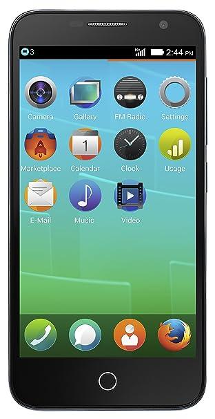 Alcatel One Touch Fire E Smartphone débloqué (Ecran: 4.5 pouces) Gris (import Italie)