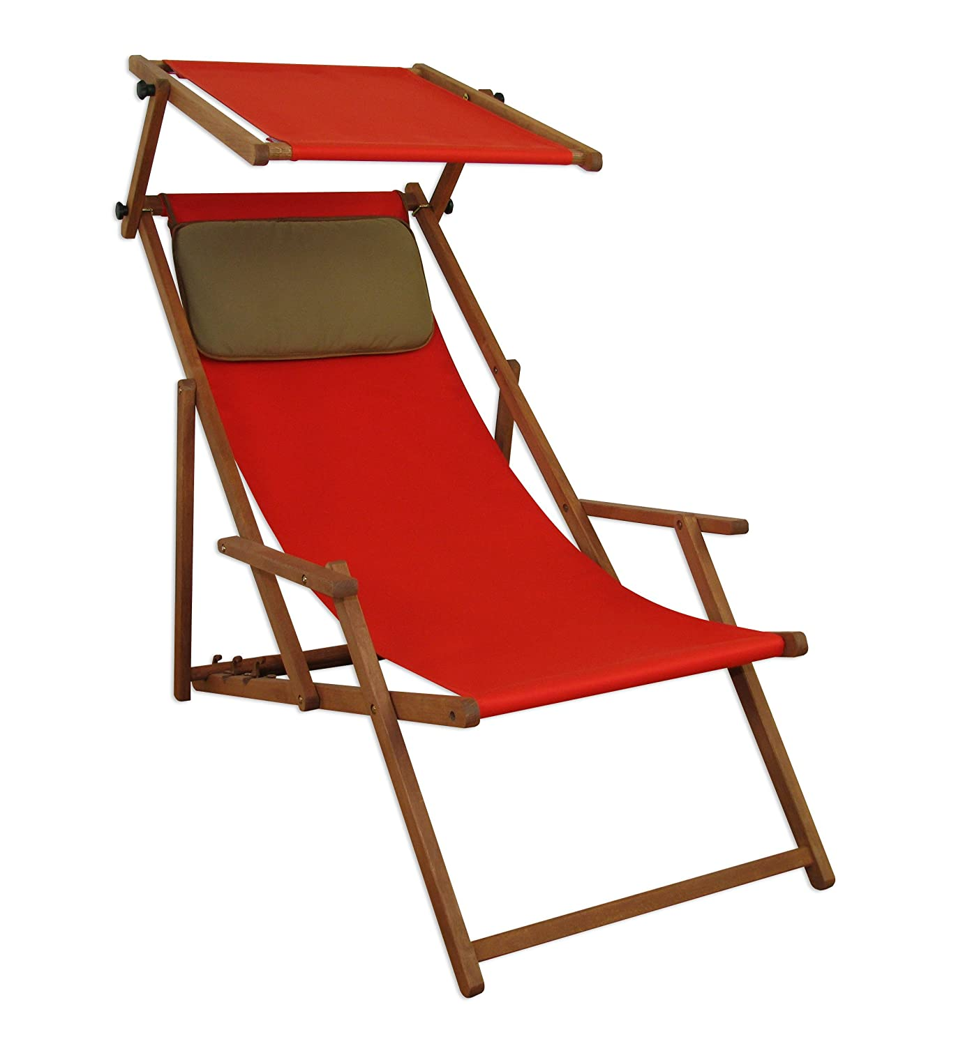 sonnenliege gartenliege deckchair saunaliege mit dach braun g nstig kaufen. Black Bedroom Furniture Sets. Home Design Ideas