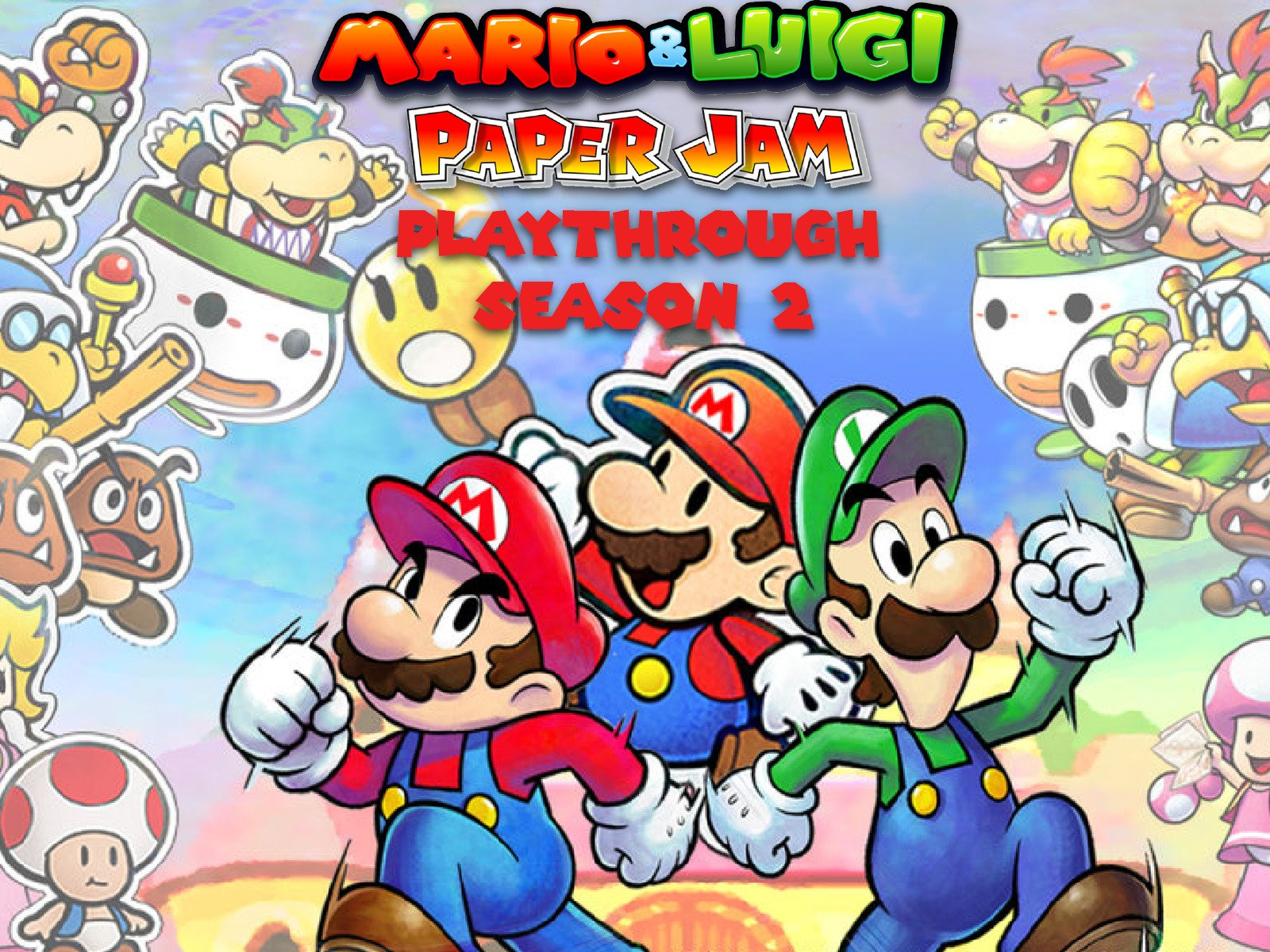 Clip: Mario & Luigi Paper Jam Playthrough - Season 2