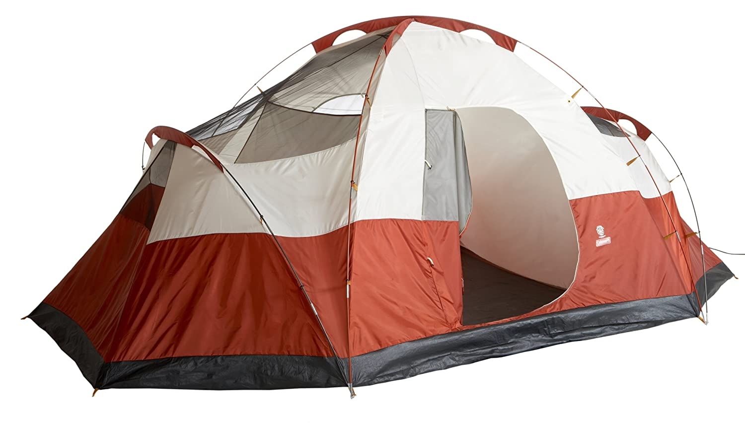 coleman 8 person red canyon tent