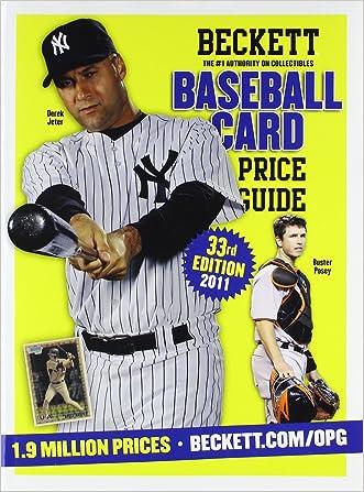 Beckett Baseball Card Price Guide No 33