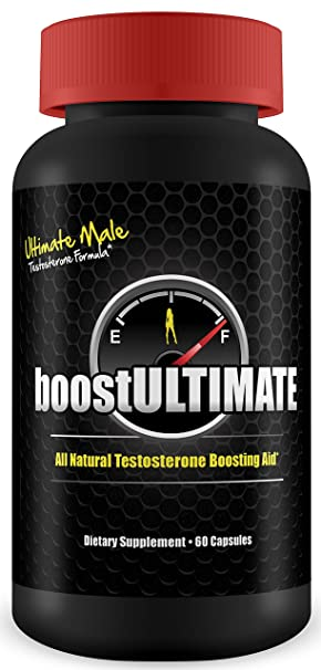 boostULTIMATE - #1 Rated Testosterone Booster - - Increase Stamina, Size, Energy & More  1