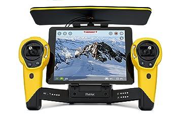 Parrot Skycontroller pour Bebop jaune contrôlé par Smartphone/Tablette