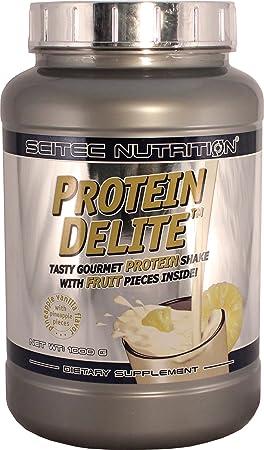 Scitec Nutrition Protein Delite, Ananas-vanille mit ananasstucken, 1000 g, 25411