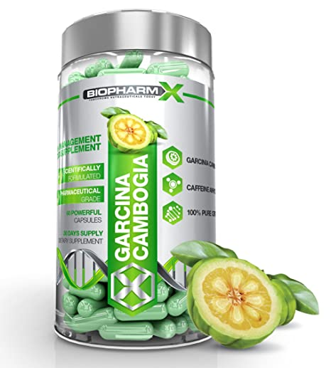 Garcinia Cambogia: Maximum Strength Appetitzugler & Fat Burner / Weight Loss & Diät-Pillen! (1 Monat), Zufriedenheit garantiert!
