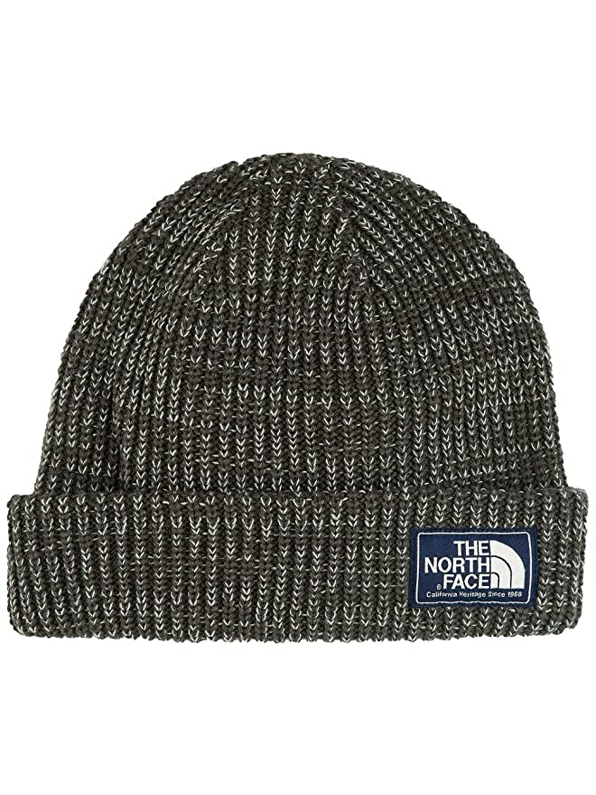The North Face Salty Dog Beanie Hat One Size Cosmic Blue: Sports & Outdoors