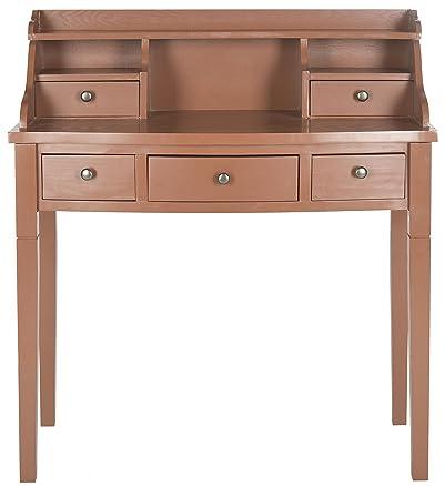 Safavieh Morgan scrivania, legno, ruggine