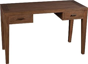 Nomades Design  501125 Bureau avec 2 Tiroirs Bois/Contreplaqué 49 x 119 x 75 cm