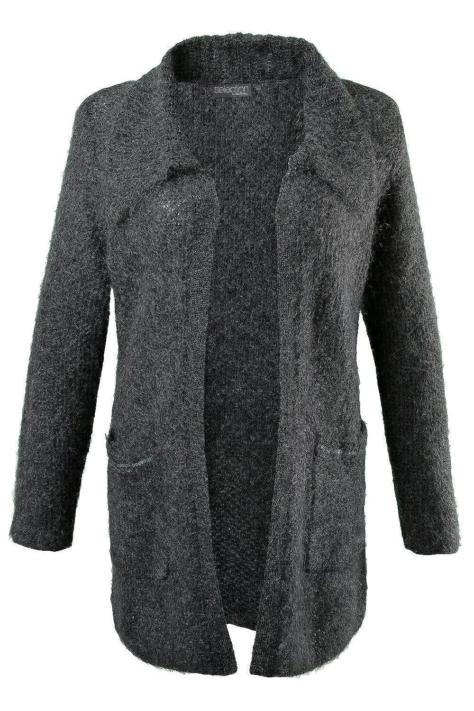 Ulla Popken Damen Cardigan 701660 große Größen