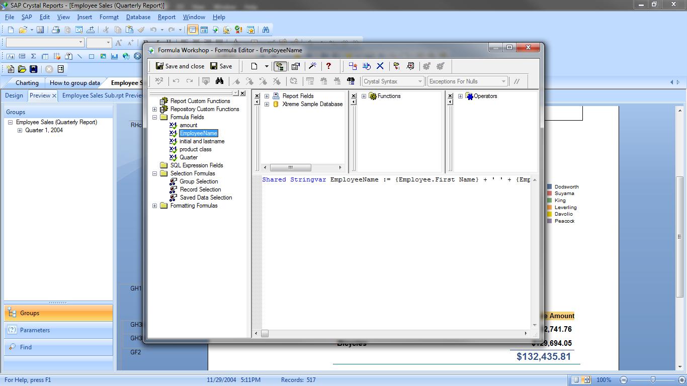 BI Reporting Software