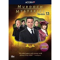 Murdoch Mysteries, Seaason 13