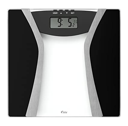 Weight Watchers Ultimate Glass Body Fat Tracker Scale