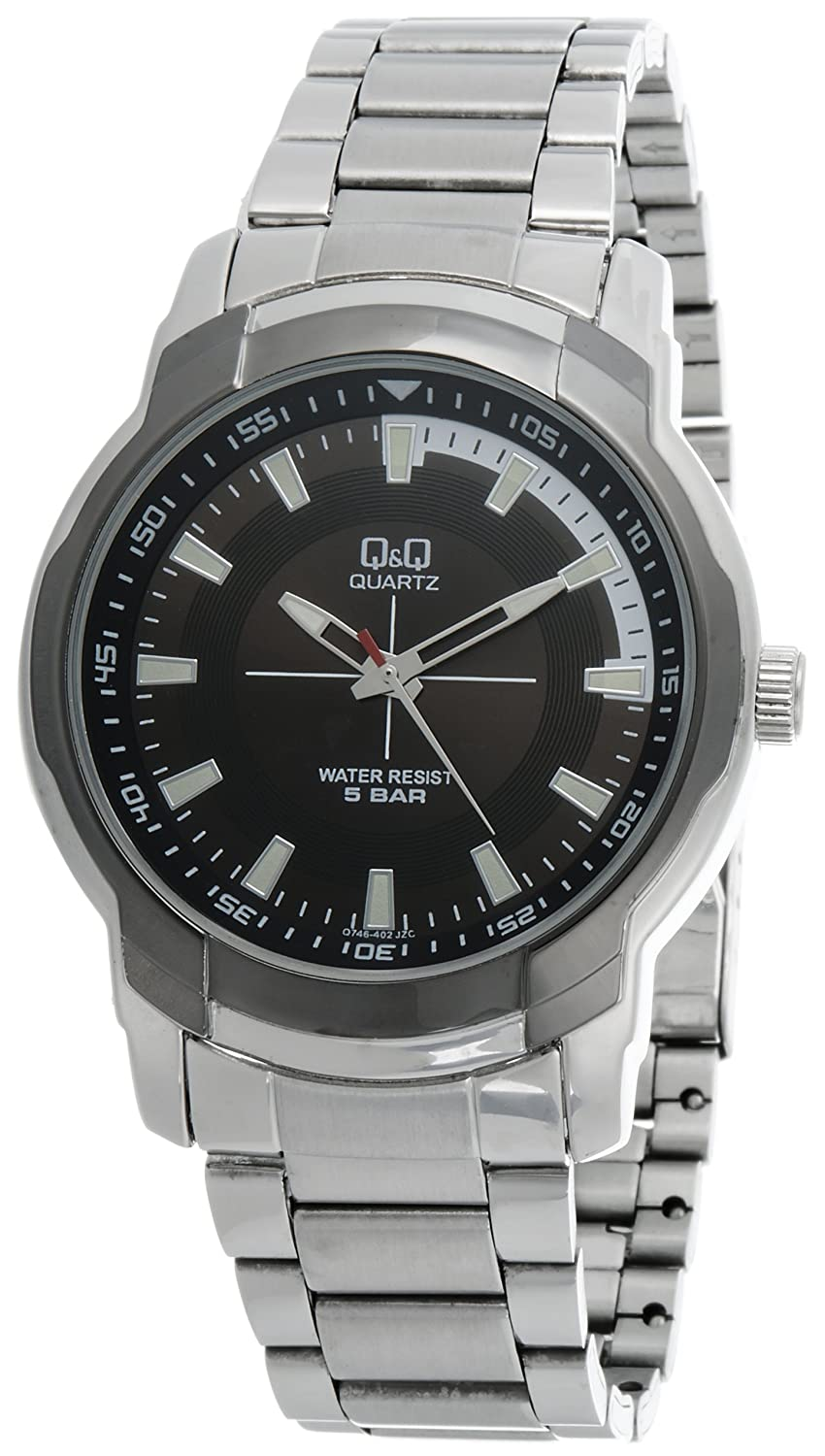 Q&Q Analog Black Dial Men's Watch at Rs 708