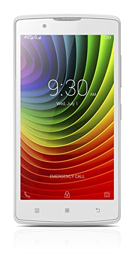 Lenovo A2010 4G  White  available at Amazon for Rs.9500