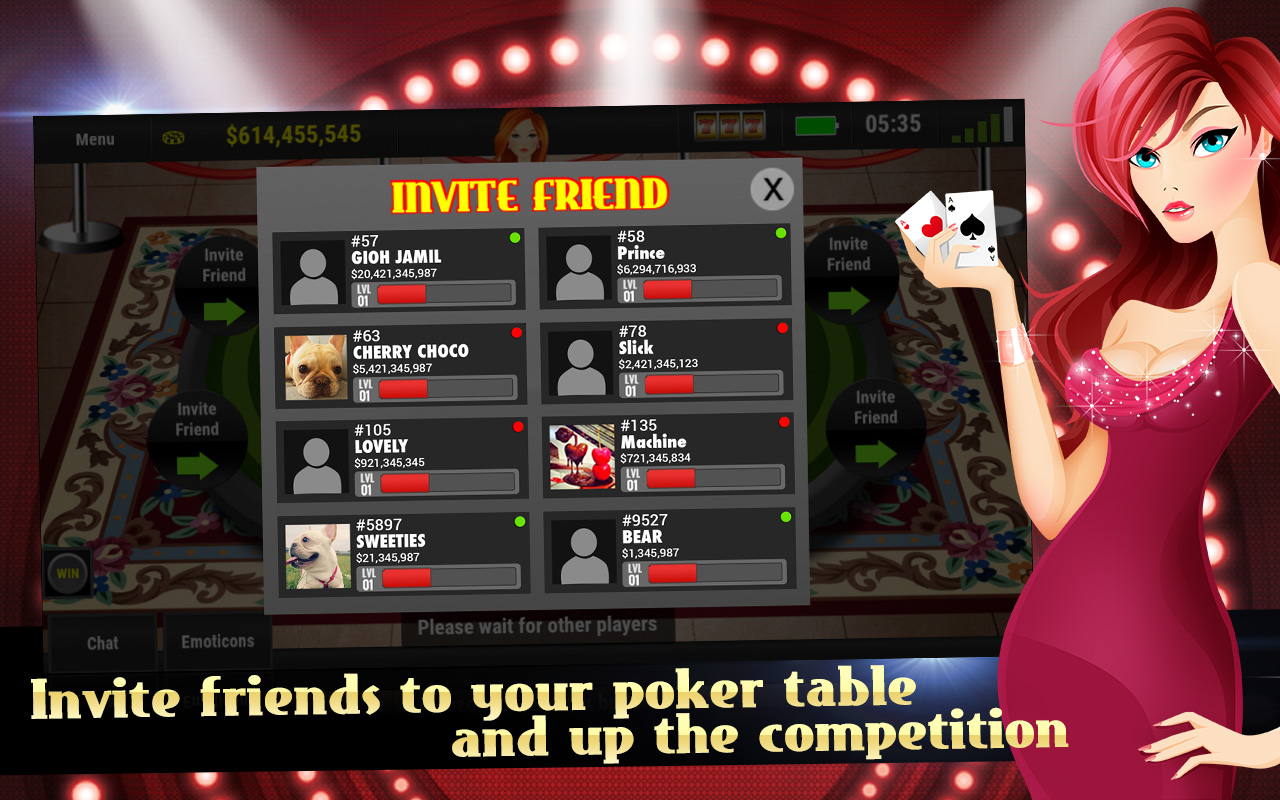 poker online free with friends