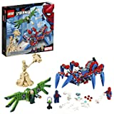 LEGO Marvel Spider-Man: Spider-Man's Spider Crawler 76114 Building Kit (418 Piece) (Color: Multicolor)