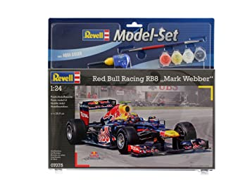 Revell - 67075 - Maquette - Model Set Red Bull Racing Webber