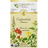 Celebration Herbals Organic Herbal Calendula Flower Loose pack Tea, 0.84 oz/24g