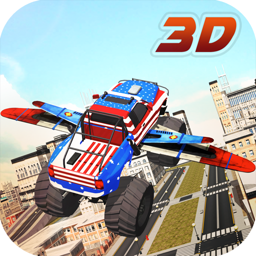 Flying Monster Truck (Monster Truck Games compare prices)