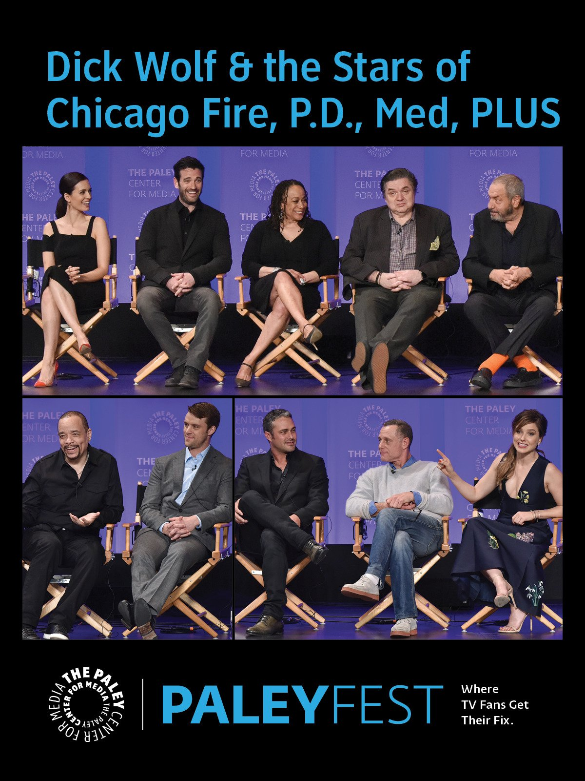 Dick Wolf at PaleyFest