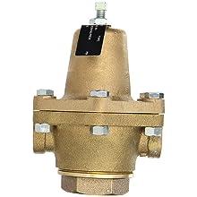 "Cash Valve 15580-0030 Bronze Pressure Regulator, 10 - 50 PSI Pressure Range, 1/2"" NPT Female"