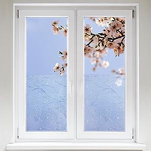 Artefact® Dekofolie / Fensterfolie Ornament | statisch haftend (ohne Kleber) | verschiedene Größen  BaumarktKritiken und weitere Informationen