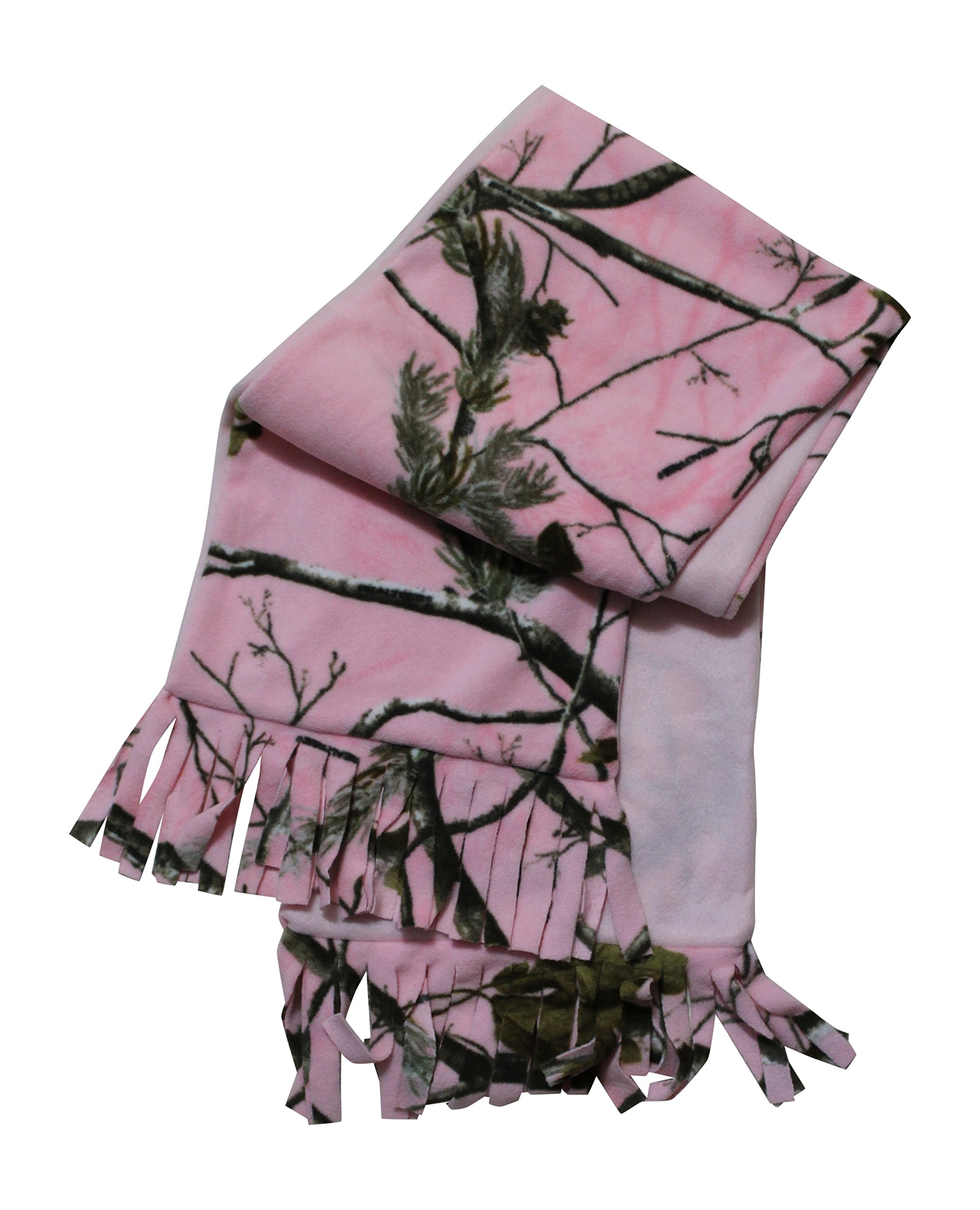 Realtree pink camo fleece scarf camo chique for Realtree camo flannel shirt