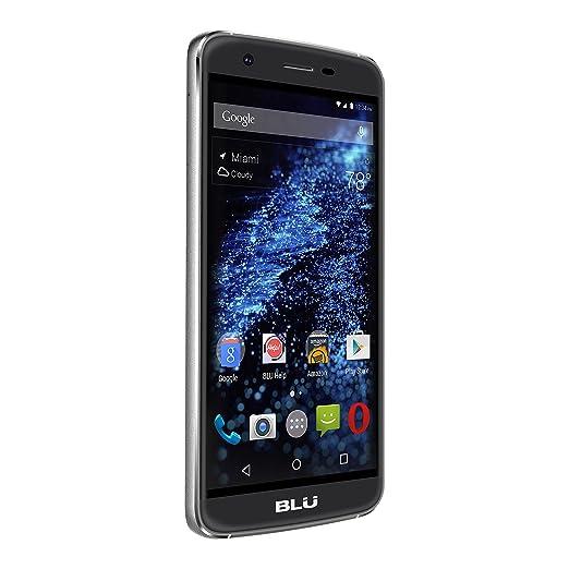 BLU S0110EE Smartphone débloqué 4G (Ecran: 5 pouces - 16 Go - Double Micro-Nano - Android 5.1 Lollipop) Noir