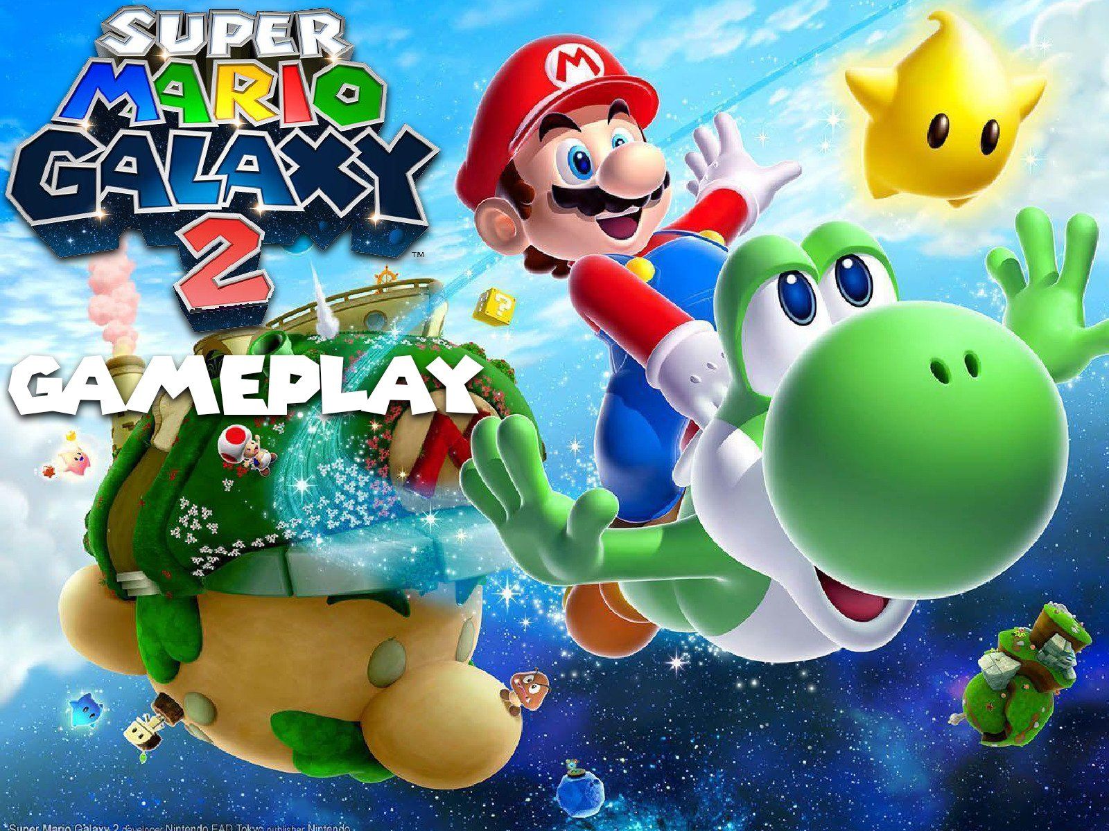 Clip: Super Mario Galaxy 2 Gameplay