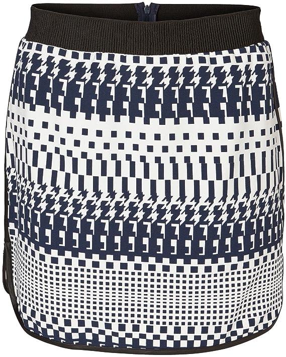 Vero Moda Women's Gradie Gross Hem Patterned Short Skirt