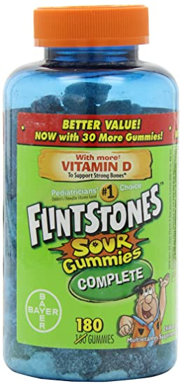 Adults taking fintstones gummy vitamins