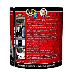 Flex Tape Black 4 x 5'