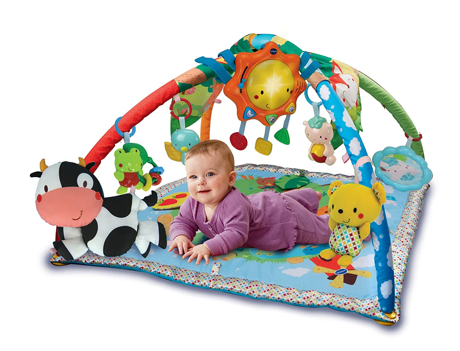 vtech lumi tapis des p 39 tits copains b b s. Black Bedroom Furniture Sets. Home Design Ideas