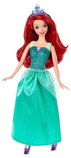 Disney Princesses - BBM22 - Poupée - Ariel Princesse Paillettes