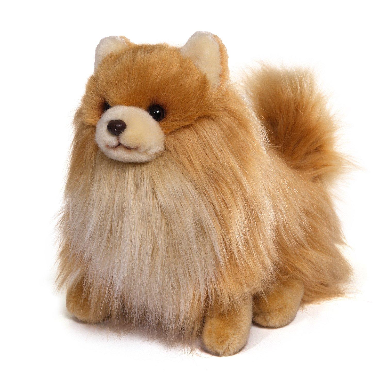 Plush dog pomeranian stuffed animal toy puppy pet soft for Amazon com pillow pets