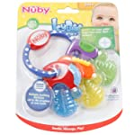 Nuby IcyBite Teether Pack of 1, F