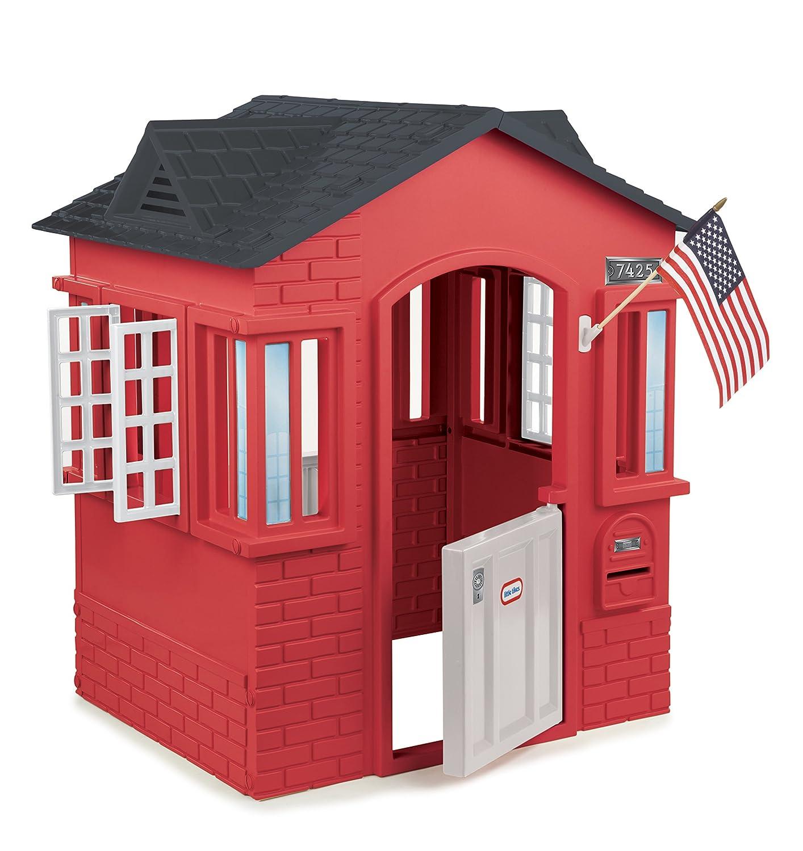 Little Tikes 0716042 – Cape Cottage, rot, Spielhäuser online bestellen