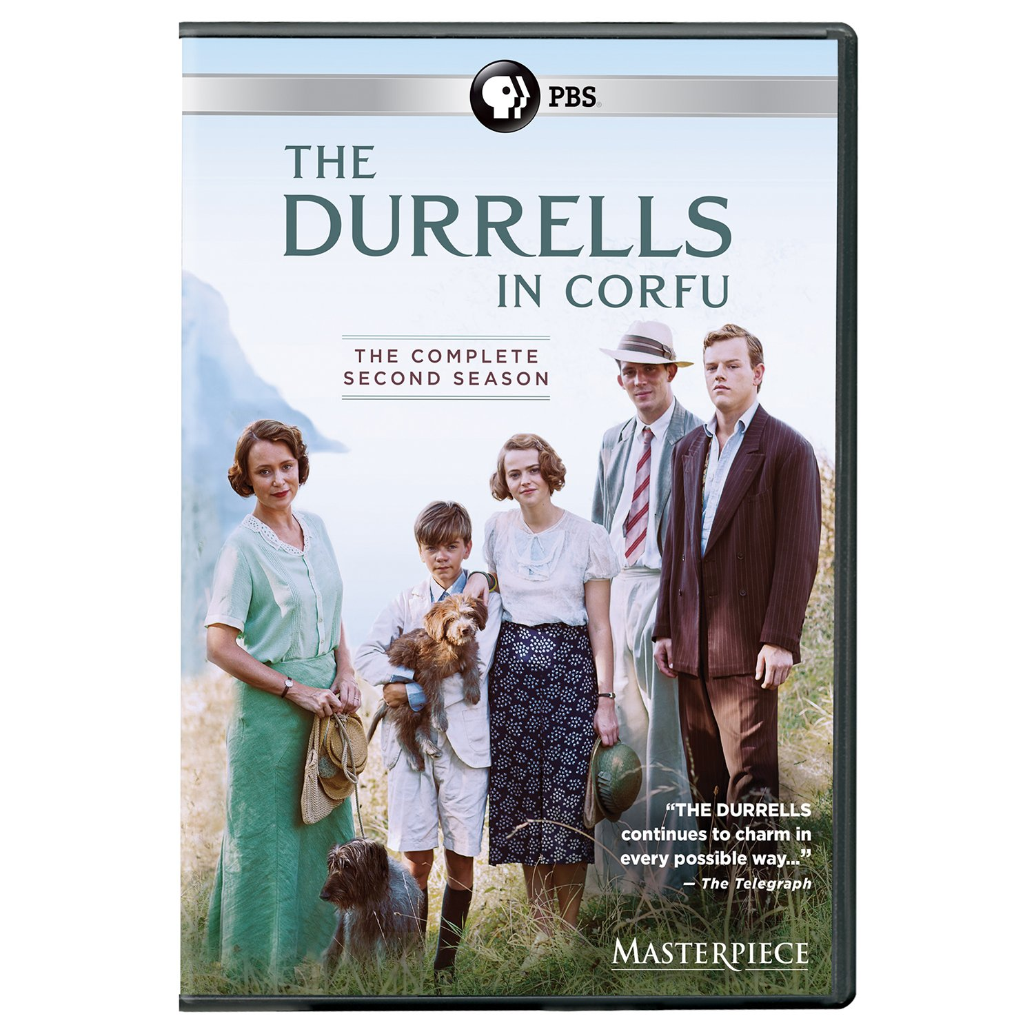 Book Cover: Masterpiece: The Durrells in Corfu Season 2 UK Edition