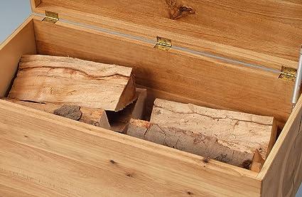 5-5-4-2245: schöne Holztruhe - Truhe massiv Wildeiche - Kuchentruhe - 80x38cm - geölt