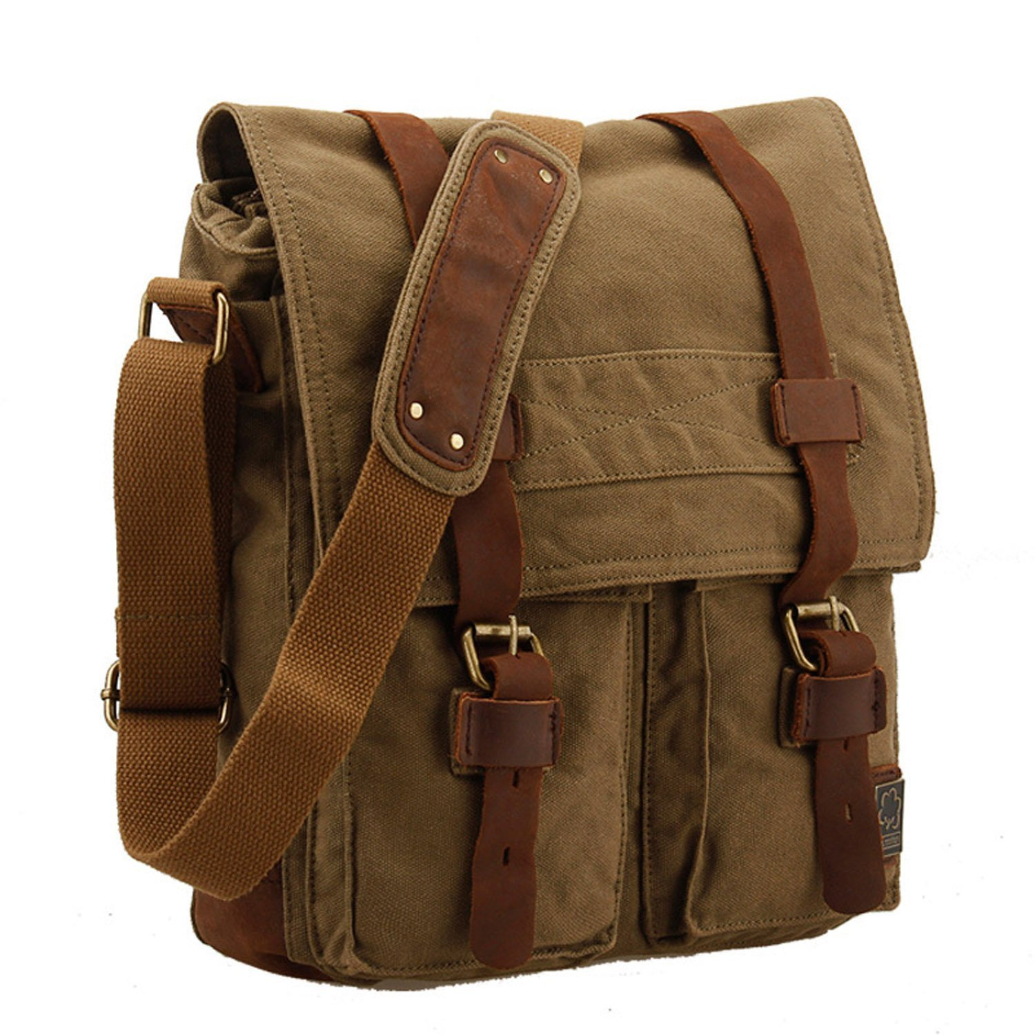 Canvas Strap For Bag Bag With Leather Straps
