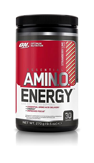 Optimum Nutrition Amino Energy Strawberry Lime Flavour, 1er Pack (1 x 270 g)