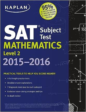 Kaplan SAT Subject Test Mathematics Level 2 2015-2016 (Kaplan Test Prep)