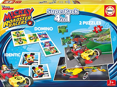 Educa Borrás - 17223.0 - Educa Superpack Mickey Top Départ