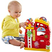 Fisher-Price Laugh & Learn Monkeys Smart Stages Firehouse