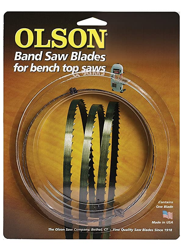 Olson Saw WB55362BL 62-Inch by 1/4 wide by 6 Teeth Per Inch Band Saw Blade (Tamaño: 62)