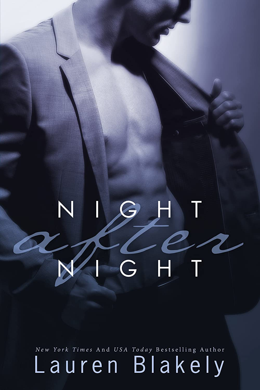 The cover of Night after Night
