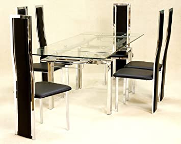 Crystal Extending Dining Table